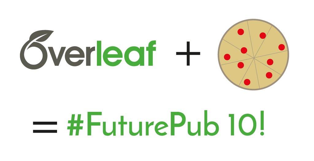 Overleaf FuturePub 10 pizza banner
