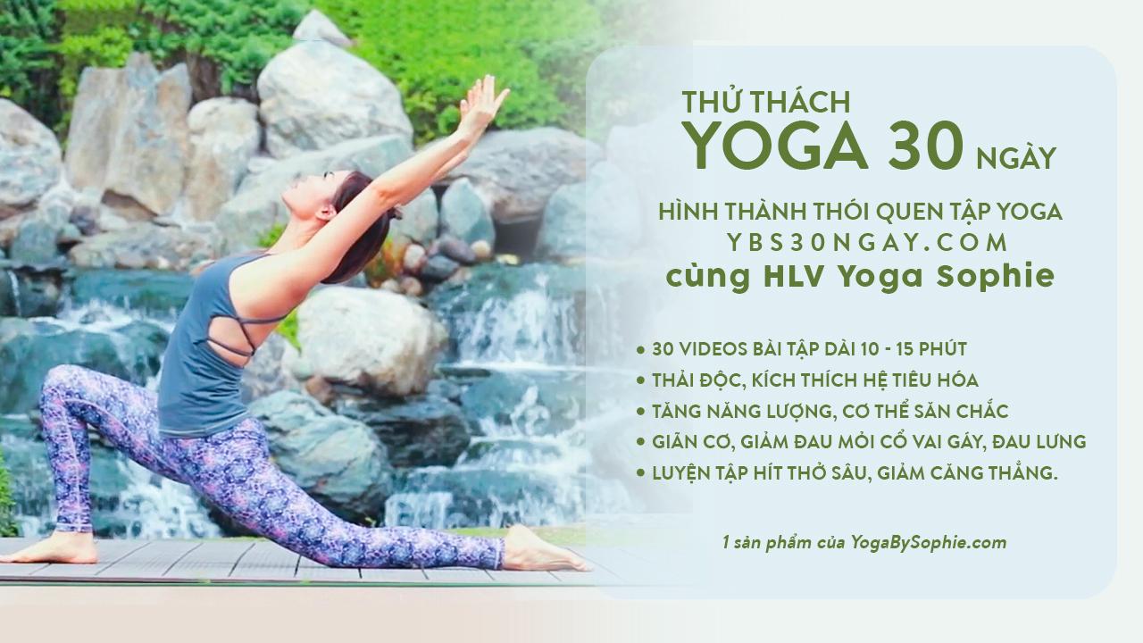 Thử thách Yoga 30 ngày