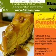 Caramel Pumpkin Cheesecake from 52teas
