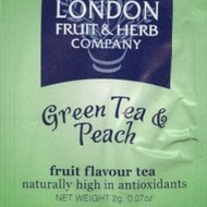 Green Tea & Peach from London Fruit & Herb Company