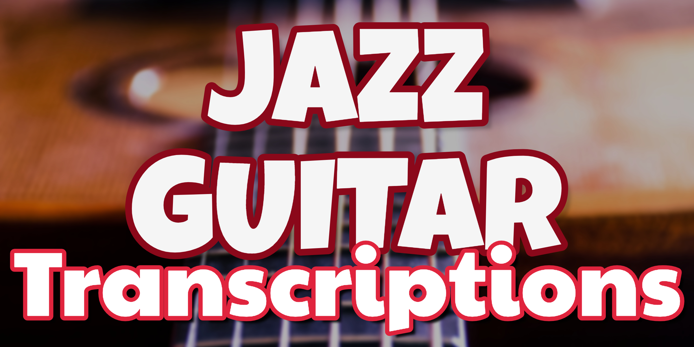 jazz guitar transcriptions - store product thumbnail
