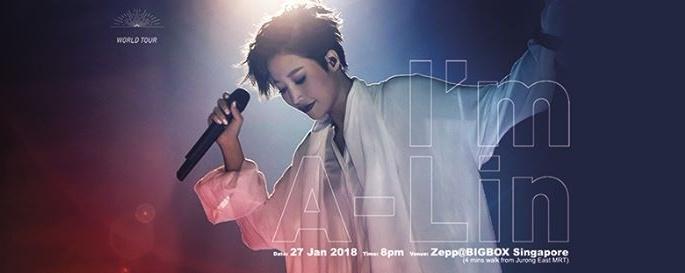 I'm A-Lin World Tour 2018 - Singapore
