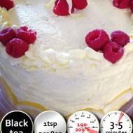 Raspberry Birthday Cake from 52teas