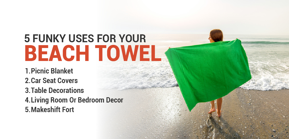For The Non-Beachgoers: 5 Funky Uses For Your Beach Towel