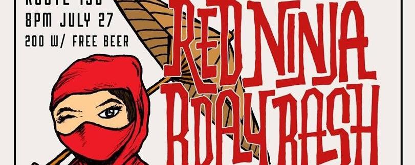 Red Ninja Bday Bash