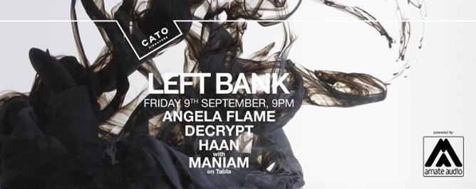 Leftbank ft. Angela Flame, Decrypt, Haan + Maniam