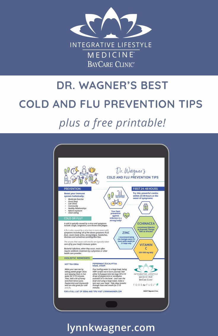Dr  Lynn K  Wagner | An Integrative Approach to Cold and Flu