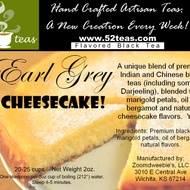 Earl Grey Cheesecake from 52teas