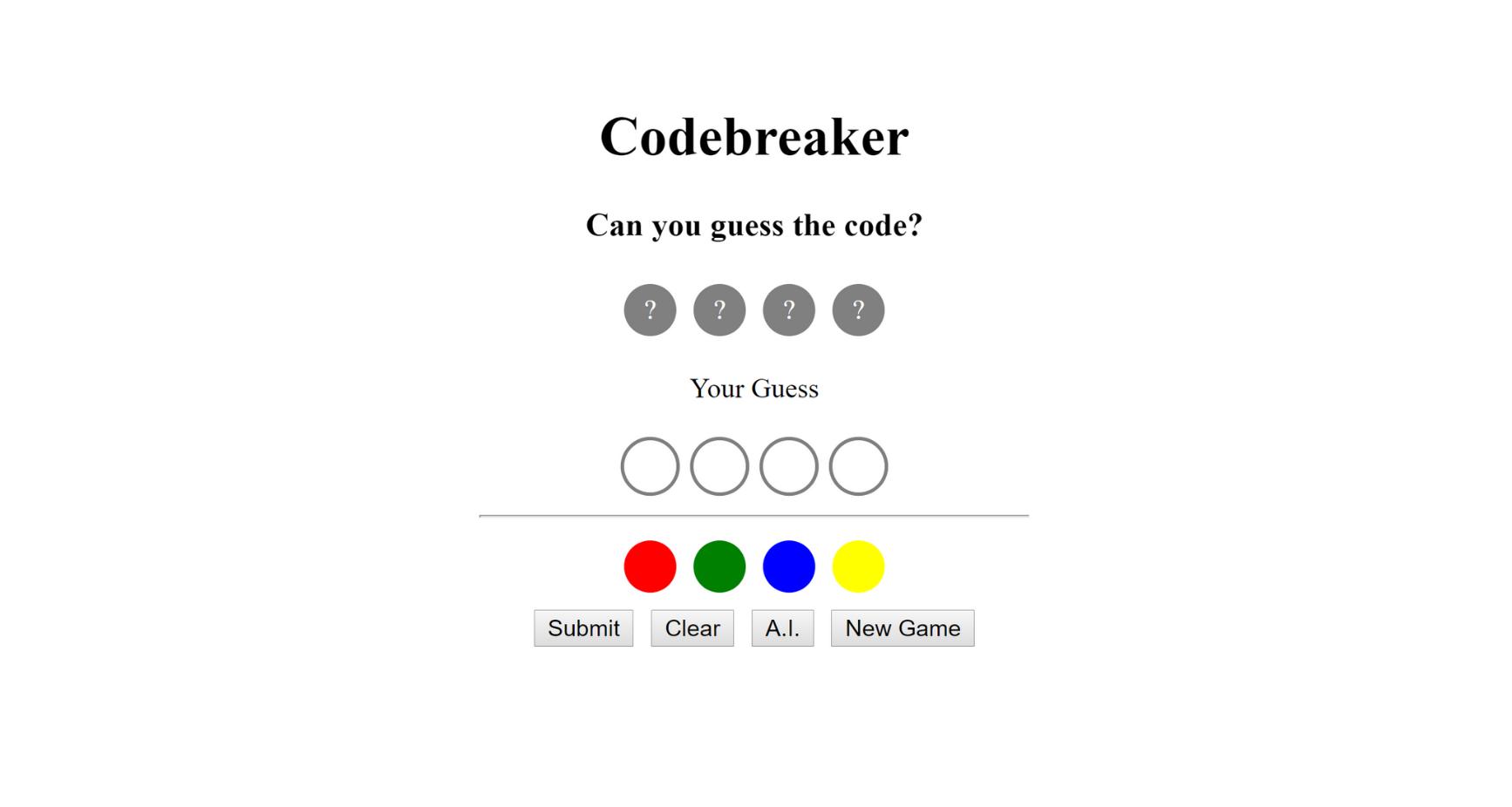Code180 Codebreaker