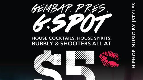 Gem Bar presents G.Spot