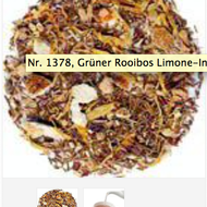 Grüner Rooibos Limone-Ingwer (Green Rooibos Lemon-Ginger) from TeaGschwendner