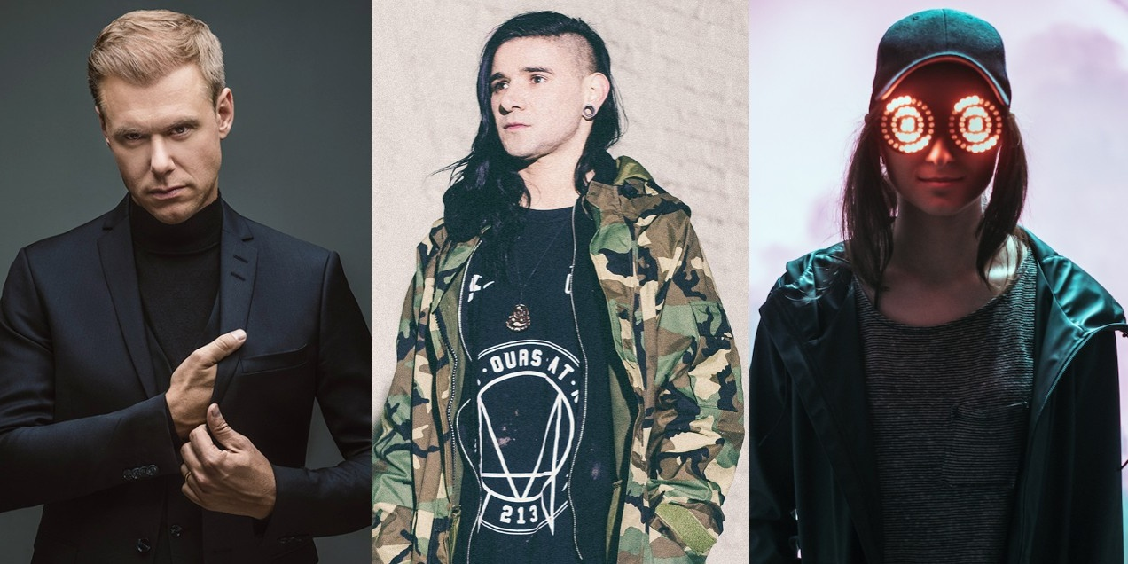 808 Festival announces Skrillex, REZZ, Troyboi, A State Of Trance and more