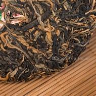 Fengqing Ancient Tree Black Tea Yunnan Dian Hong Black Tea Cake from DragonTea House