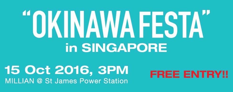 OKINAWA FESTA in Singapore