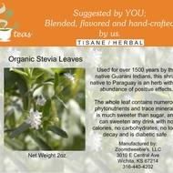 Organic Stevia from 52teas