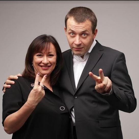 Иван Ковпак и Алена Нейман