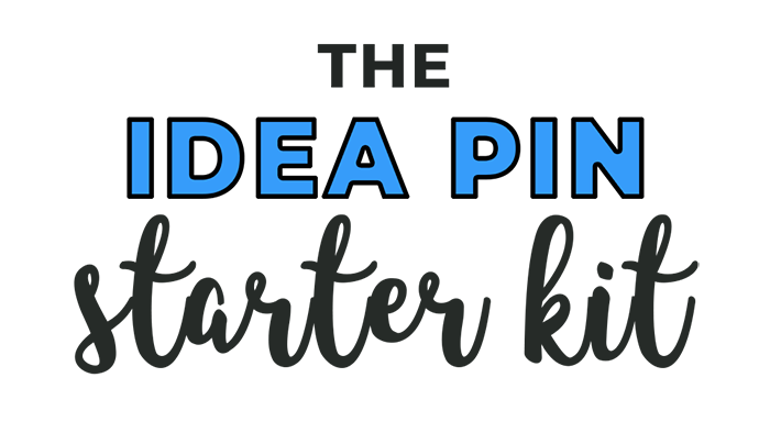 Idea Pin Starter Kit Logo