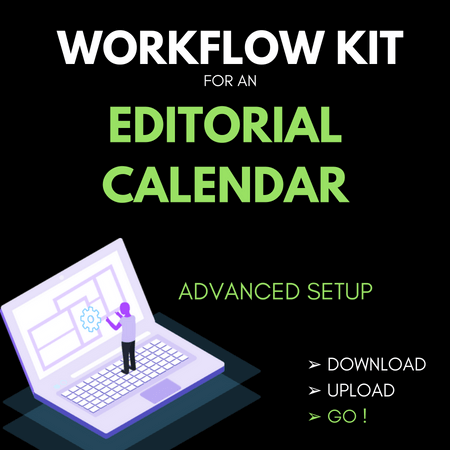 Workflow Kit Editorial Calendar
