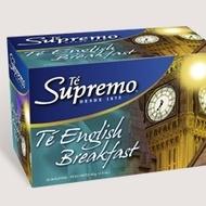 English breakfast tea from Te Supremo