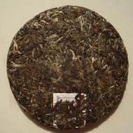 2008 Hai Lang Hao * Lao Ban Zhang & Man'E Ancient Arbor cake from Yunnan Sourcing