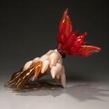 "image: Blown Hot Sculpted Glass 24"" x 16"" x 18"" ~ 2014"