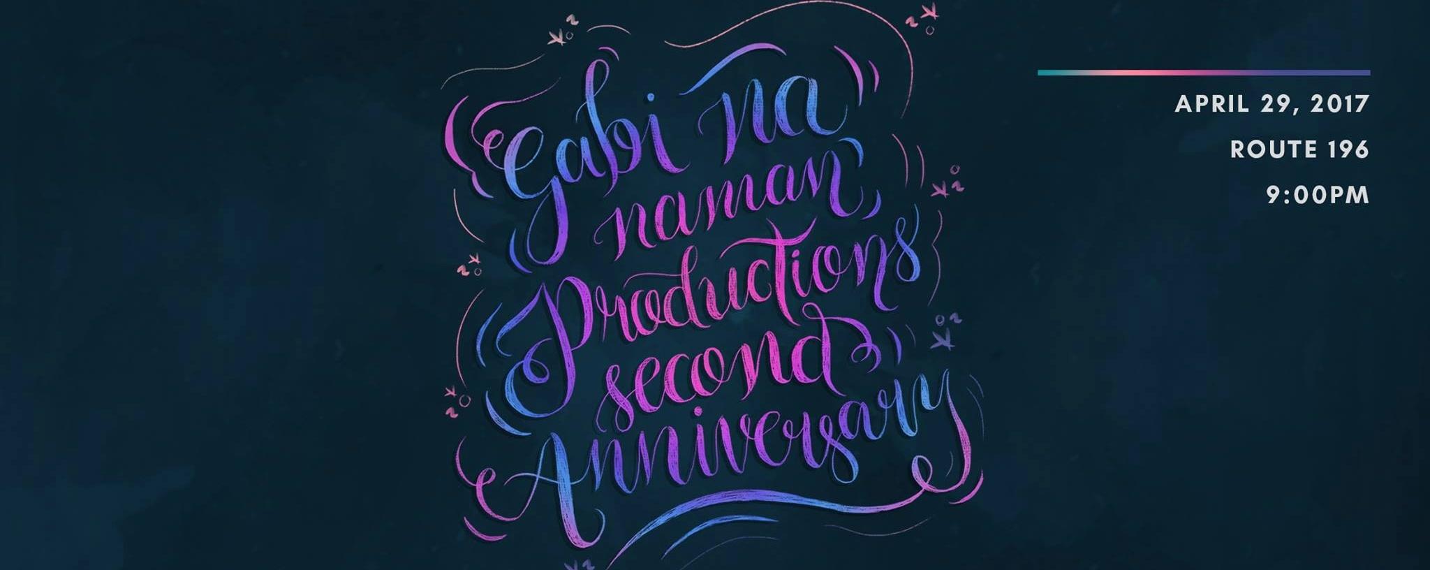 Gabi Na Naman 2nd Anniversary