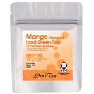 Mango Iced Green Tea Bags from Den's Tea