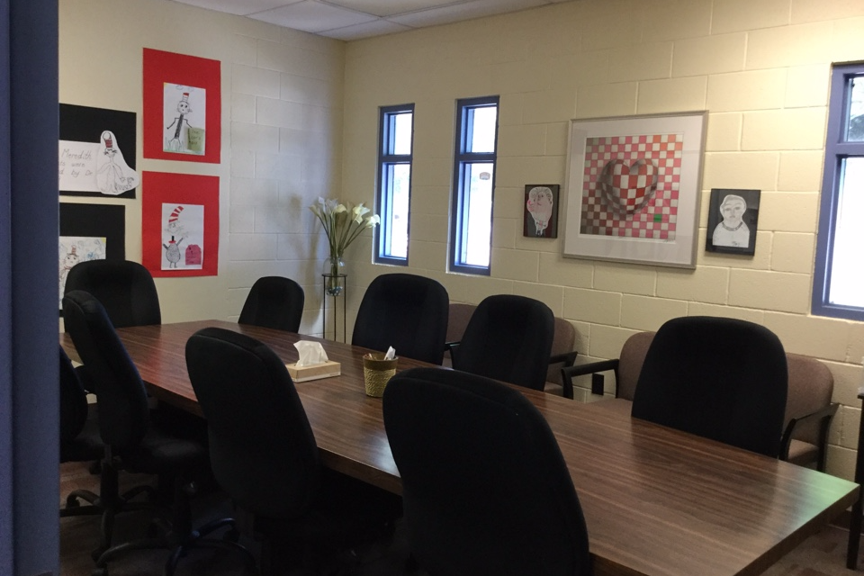 Facility Rentals Mary Meredith K Conference Room - 15 foot conference table
