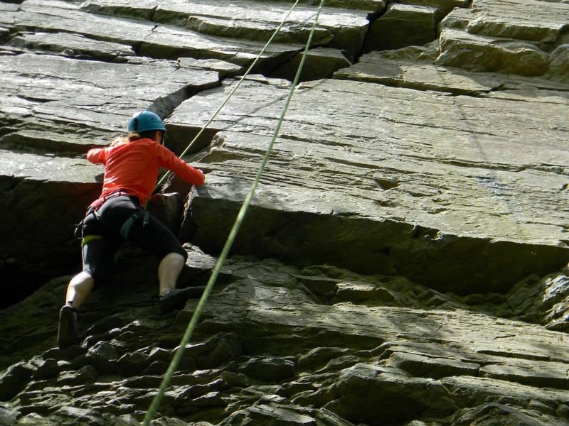 Introduction to Rock Climbing: Ralph Stover State Park, PA ...