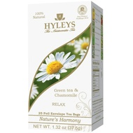 RELAX   Green Tea & Chamomile   Tea Bags from HYLEYS