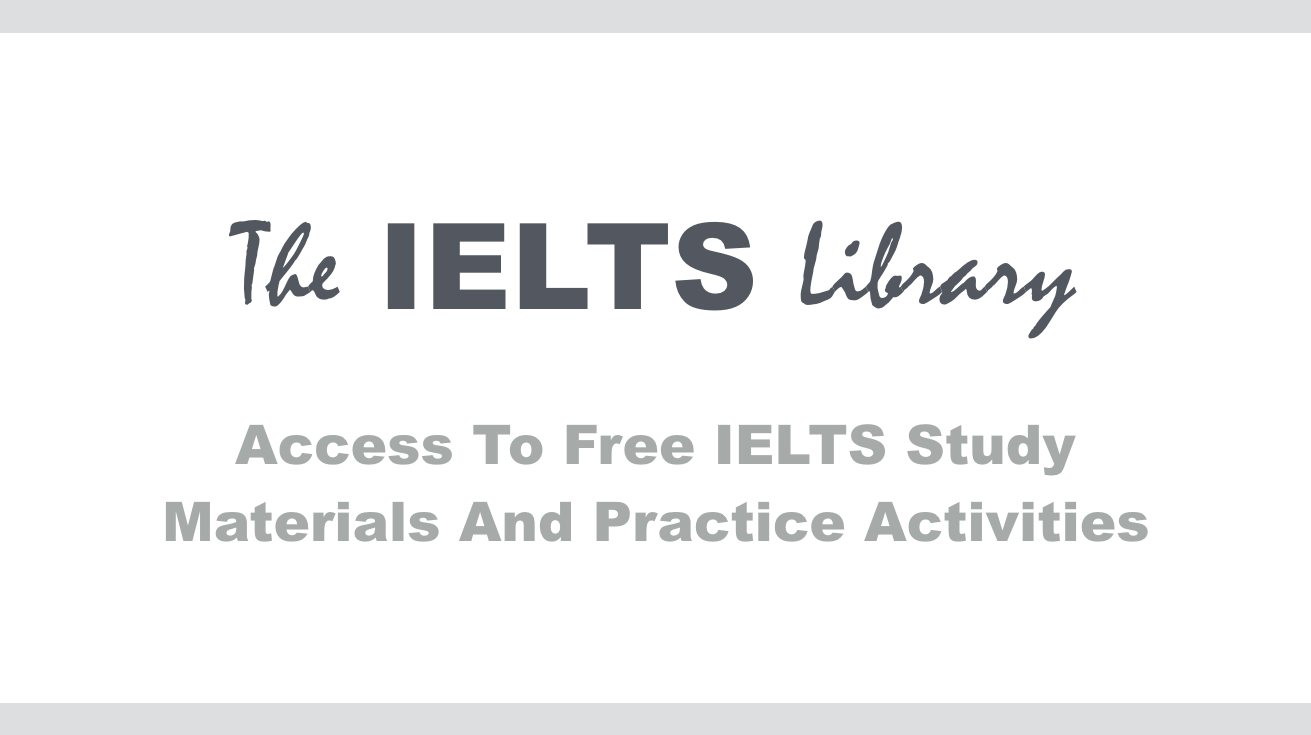 Free IELTS material and resources