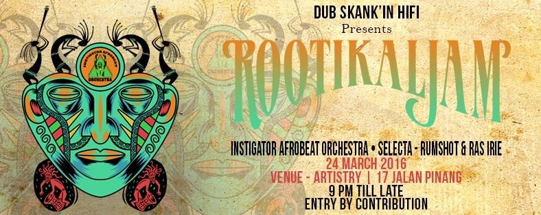 Rootikal Jam with Instigator Afrobeat Orchestra