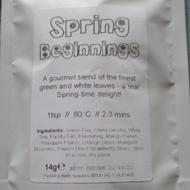 spring beginnings from Bruu Tea