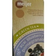 Acci Blueberry Pomegranate  Green Tea from Meijer