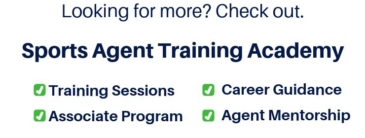 Sports Agent Training