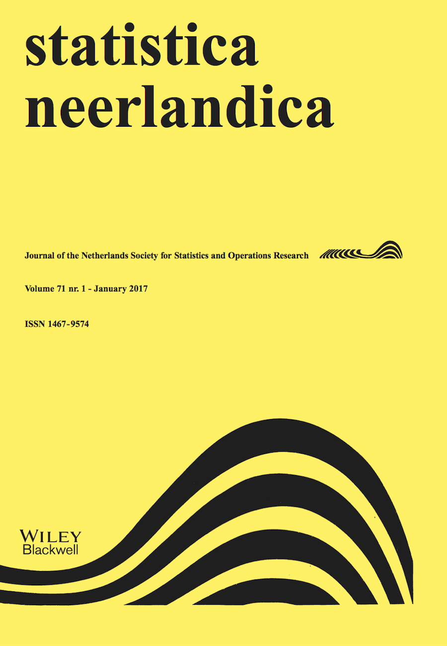 Template for submissions to Statistica Neerlandica