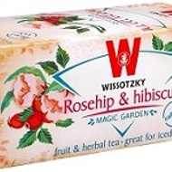 Rosehips and Hibiscus from Wissotsky tea
