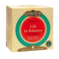 Black Tea & Chai Spices - Life In Balance from Hari Tea