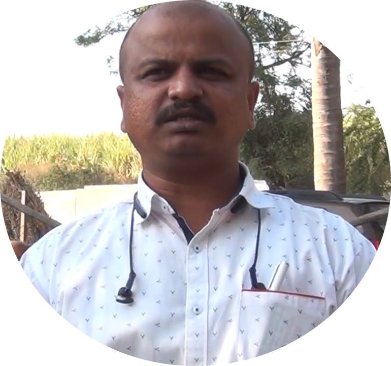 Expert in dairy farm medicine Dr Santosh at Teplu. Learn dairy farming from experts with proven credentials