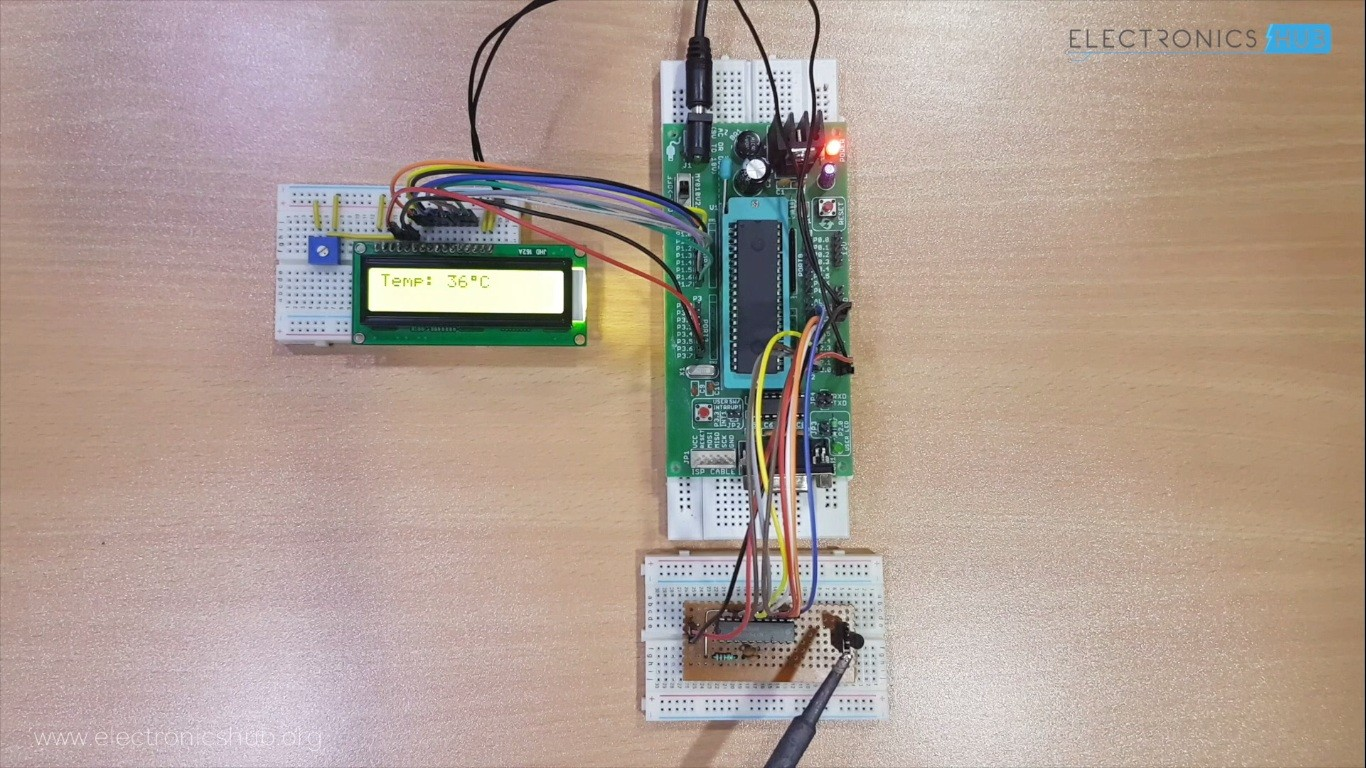 Celsius scale thermometer using at89c51 and lm35 electronics hub about this course it is designed for anyone who are interested in developing 8051 based projects and this will introduce the 8051 hardware and programming solutioingenieria Gallery