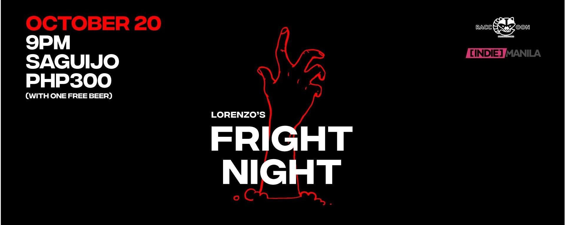 Fright Night at Saguijo