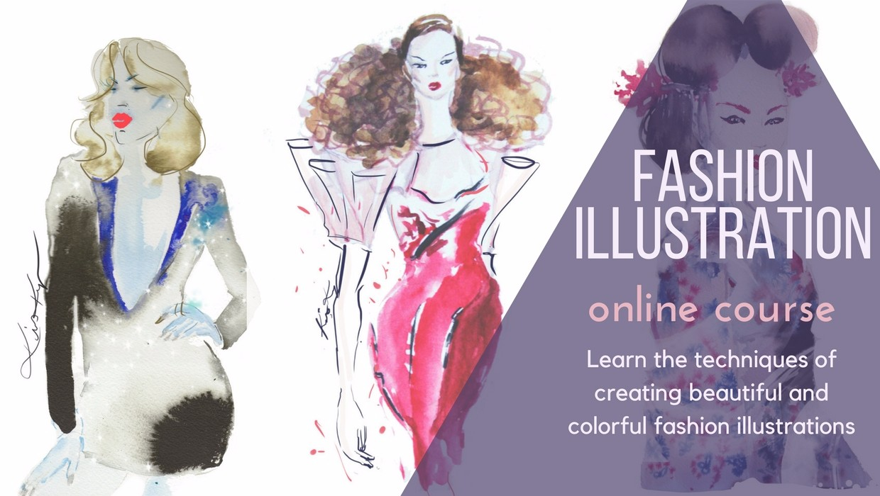 Step by Step Course on Creating Fashion Illustrations | Keys