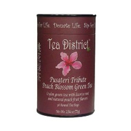 Peach Blossom Green Tea from Tea District