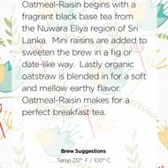 Oatmeal-Raisin from Handmade Tea
