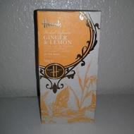 Ginger & Lemon Tea from Harrods