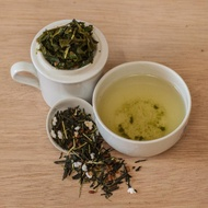Genimaicha (Snow on Bamboo) from Blue Willow Tea
