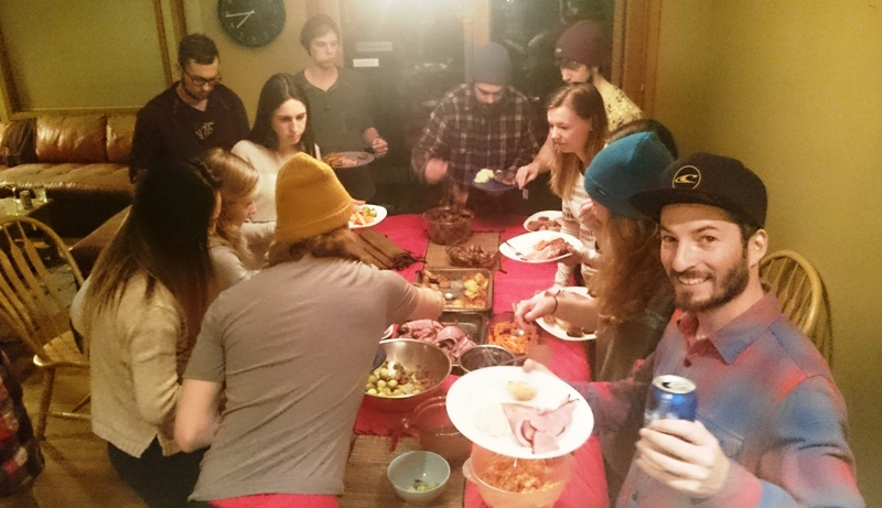 Core family Xmas Dinner