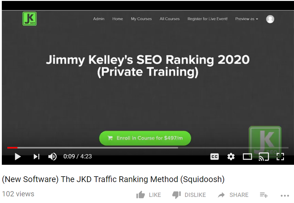 Testimonial: Ranking with Traffic Alone