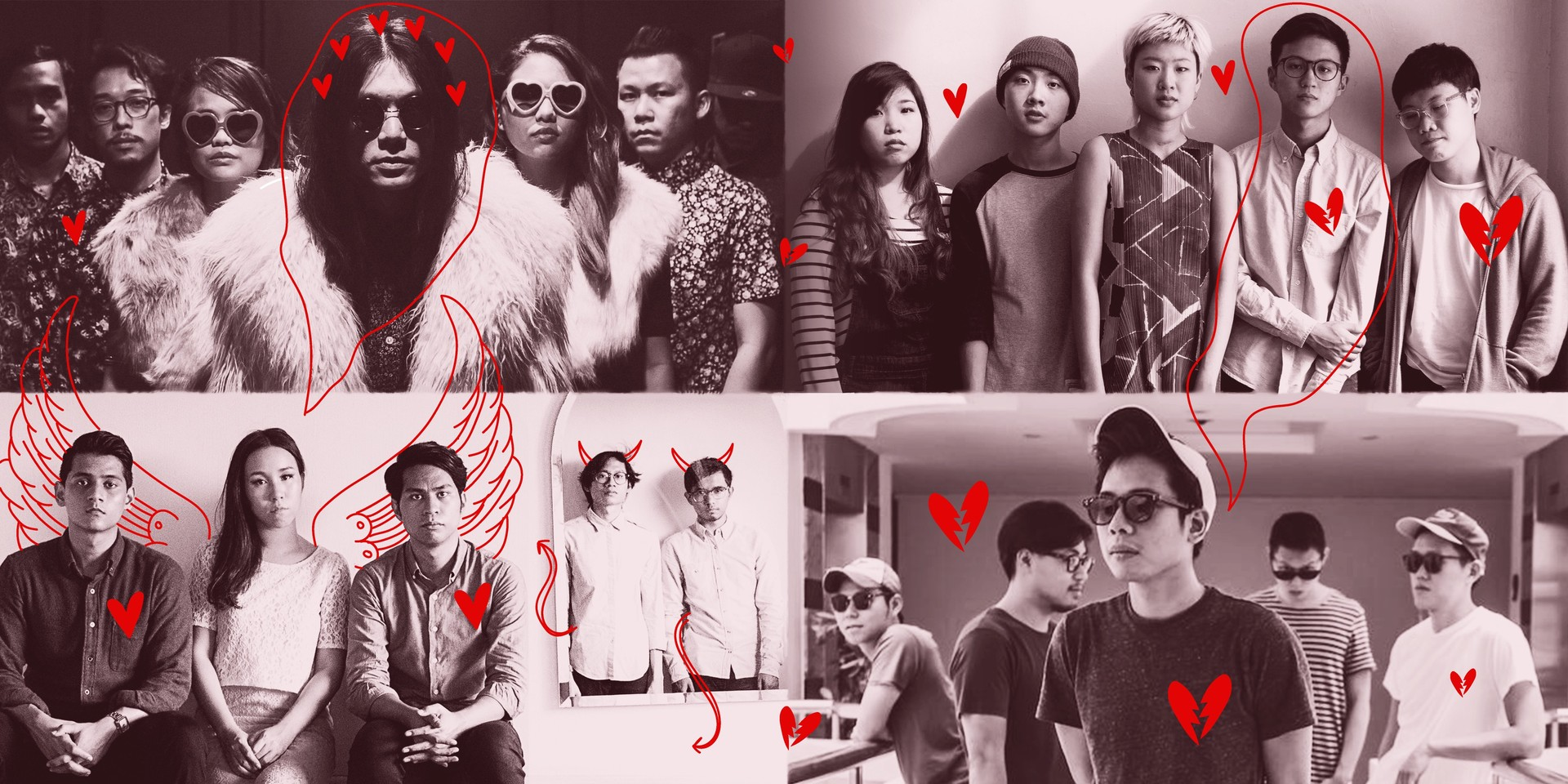 Here are 15 great Singaporean love songs for your Valentine's Day
