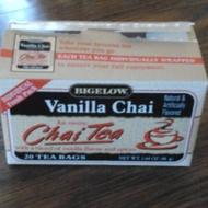Vanilla Chai Tea from Bigelow